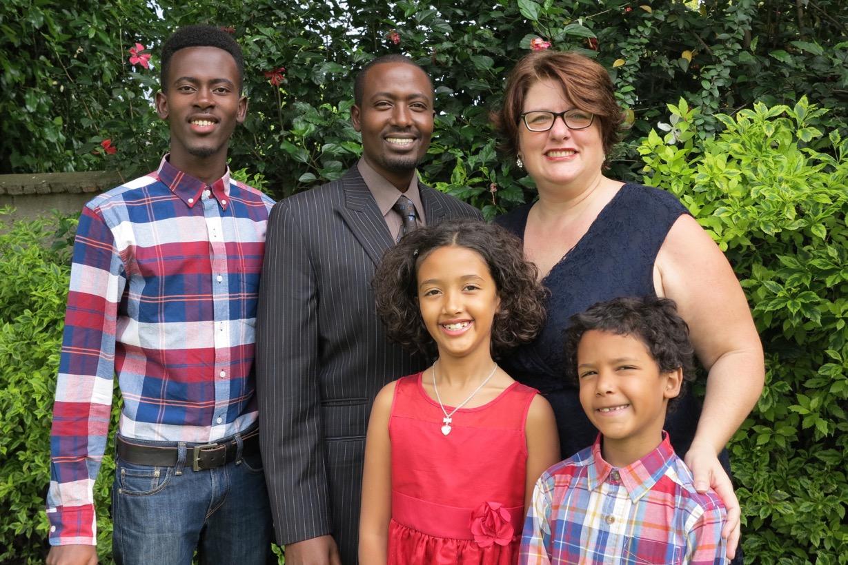 Kamari Family photo