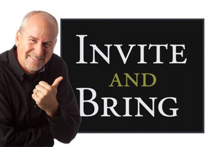 Invite and Bring logo with Phil Callaway